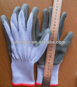 nylon with nitrile gloves