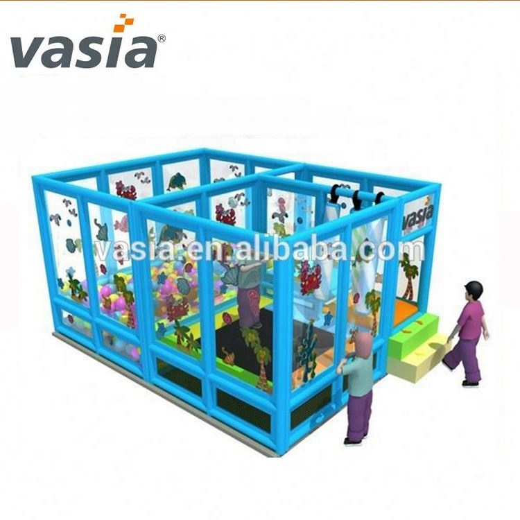2019 Huaxia kids play jungle theme children amusement park indoor playground equipment for sale