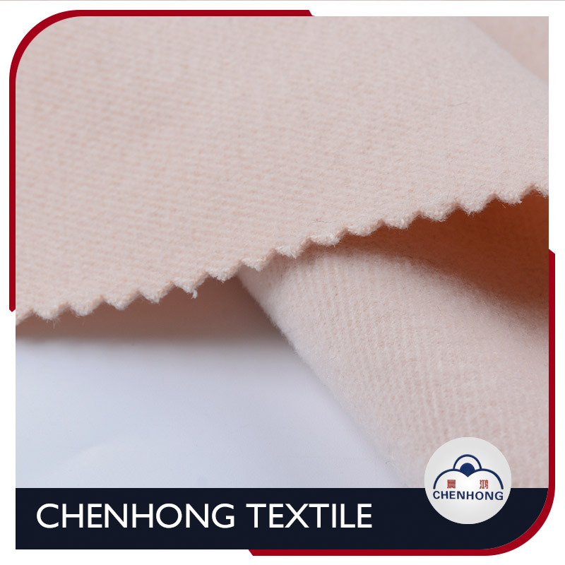 importing superior quality heavy imitation flannel from china / polyester rayon spandex wool hand feel fabric for uniforms