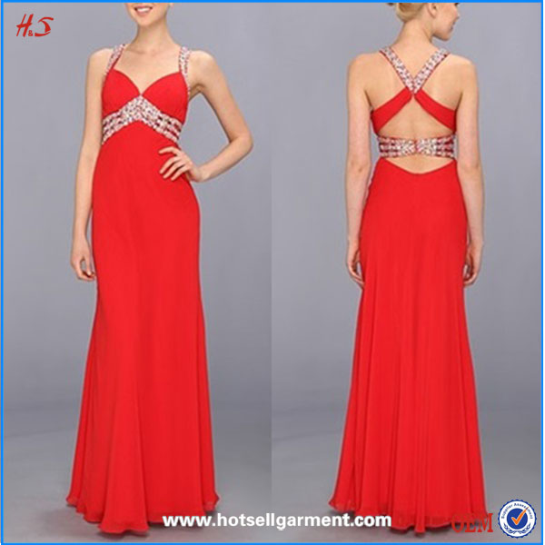 New Arrival Korean Prom Dresses One Piece Girls Party Chiffon Maxi Dresses For Women