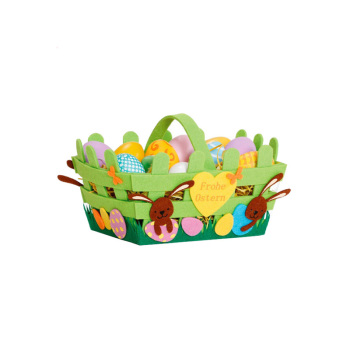 Laser cut easter gift bag wholesale felt easter basket buy easter laser cut easter gift bag wholesale felt easter basket negle