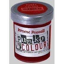 Jerome Russell Punky Semi-Permanent Colour Cream Poppy Red 3.5 oz by Jerome Russell BEAUTY by Jerome Russell by Jerome Russell