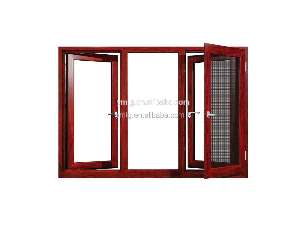 Venta al por mayor ventanas grandes de madera-Compre online los ...