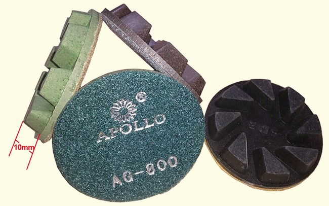 Apollo 80mm Diamond Marble Polishing Pads Diamond Tools