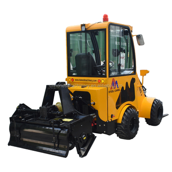 horse loader auto drive mini wheel loader with rear pto for sale