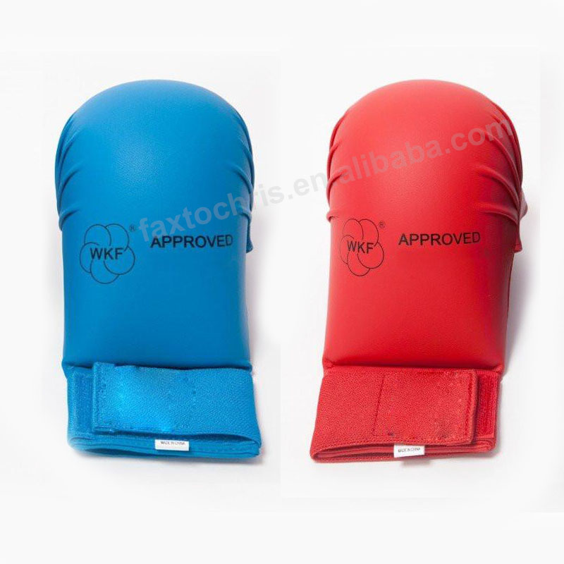 WKF Approved Karate training mitts karate mitts without thumb