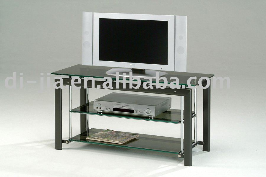 3 Tier Glass Metal Frame Glass Tv Stand Buy Led Tv Stand Popular
