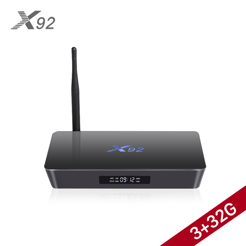 X92 <strong>TV</strong> <strong>Box</strong> <strong>Amlogic</strong> S912 X92 Android <strong>TV</strong> <strong>Box</strong> X92 3GB 32GB Smart <strong>TV</strong> <strong>Box</strong> Android 7.1