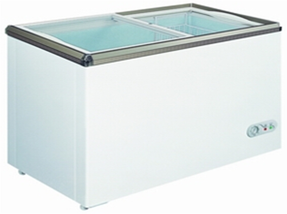 Small Size Ice Cream Refrigerator Display Cabinet Deep