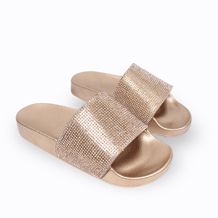 New fashion latest design indoor summer house sandals shoes lady woman cheap slides woman <strong>slipper</strong>