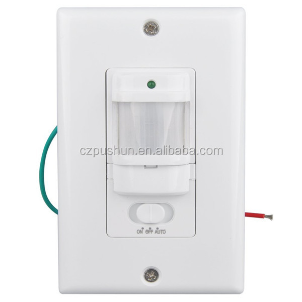 PC Ceiling or wall mounted human motion detection pir motion sensor switch for LED light