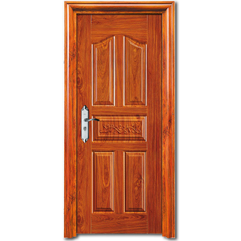 HS-1857 interior french home position using residential steel door styles and frames with handles