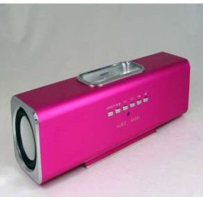 hgih quality speaker for iPhone/ipod/ MP3/MP4 with docking station