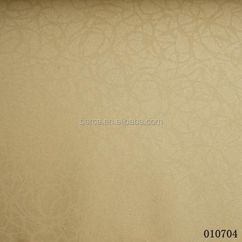 Barca 0107 series pvc solid color/one color vinyl wallpaper for big hotel project wallpaper
