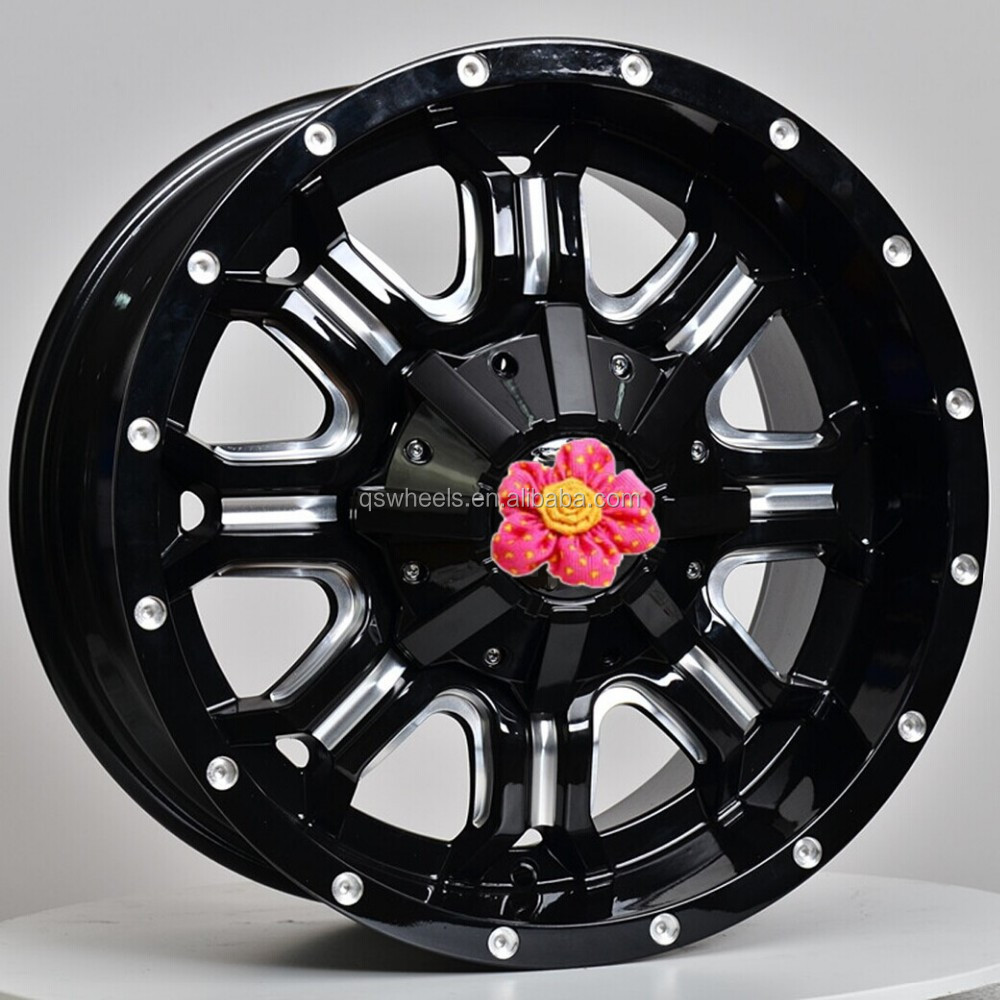 6 Hole 16 Inch Rims Fit : Suv wheel alloy inch rim hole view