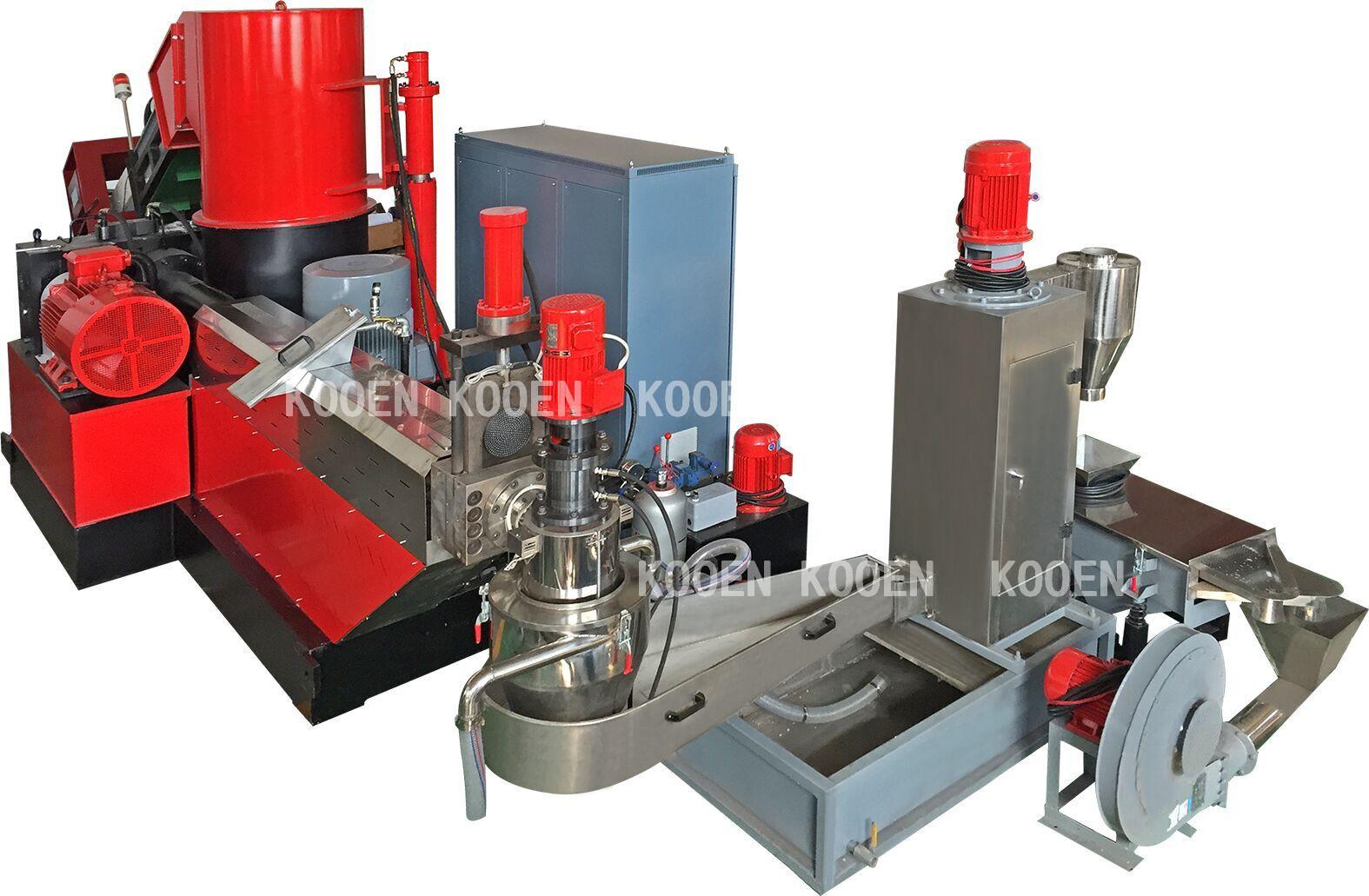KOOEN Metalen Shredder/Stof Shredder/Industriële Papiervernietiger Machine voor verkoop
