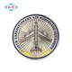 Hot sale silver plated soft enamel custom challenge coin maker