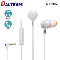 Best sound audiophile unique ceramic in ear mobile phone earphone
