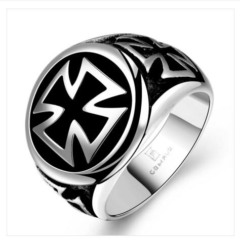 New Fasion Jewel Design Men Wholesale Price Silver Zircon Ring