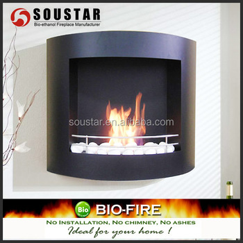 2017 Chimenea Bio Etanol Wall Mounted Fireplace Heater - Buy