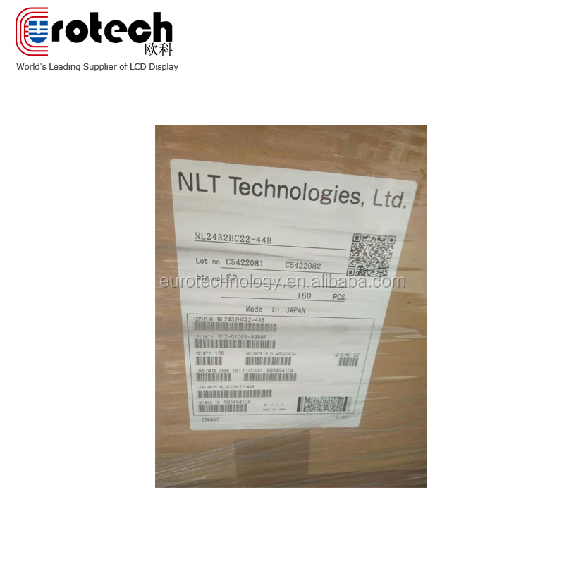 NLT original new A grade NL2432HC22-44B 240*320 resolution 3.5inch lcd