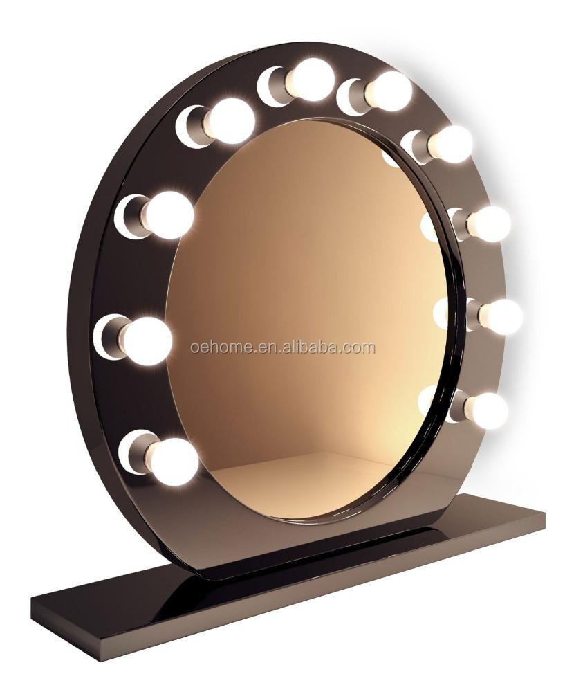 Koop laag geprijsde dutch set partijen groothandel dutch galerij afbeelding setop ronde zwarte - Hollywood spiegel lampen ...