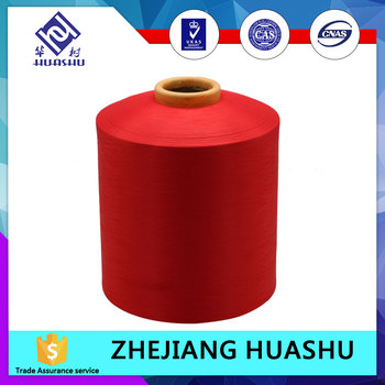 48F dyed ACY polyester covered spandex yarn with best quality