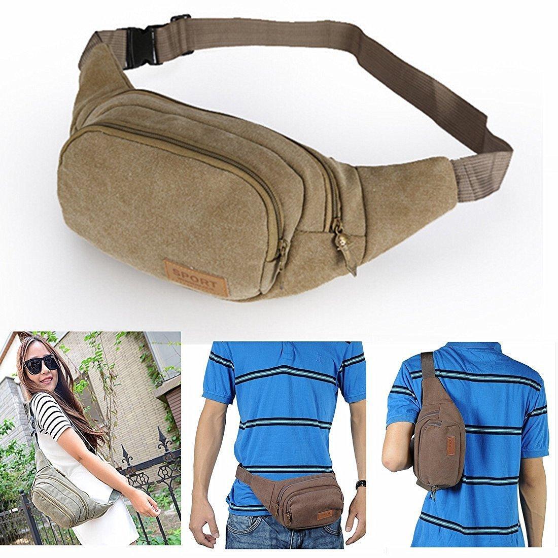 d1f16dcf7ed Get Quotations · Kalevel Outdoor Sports Backpack Casual Bags One Shoulder  Bag Sling Bag Canvas Backpack Rucksack Backpack Hiking