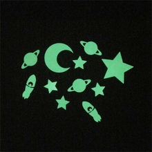 Luminous PVC Home Decorative Glow In The Dark Stars Wall Stickers
