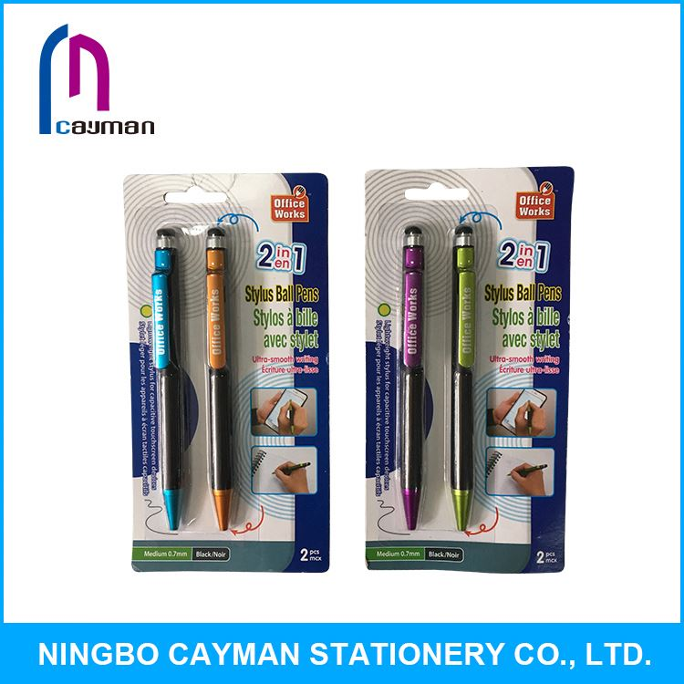 Professional factory supply good quality promotional pen with flashlight