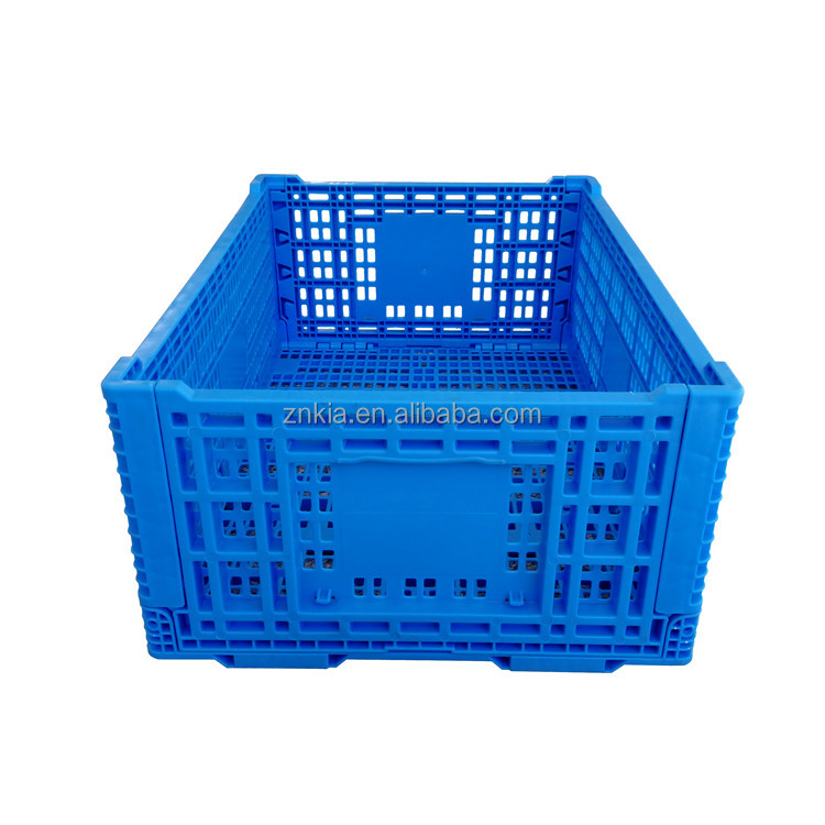 egg transportation crate collapsible plastic fruit crates