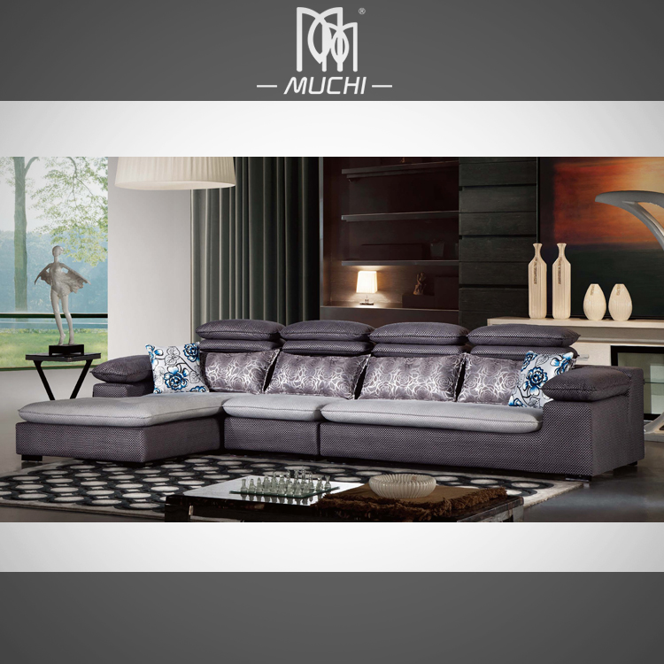 Nice sofa sets whole special light grey fl design nice for Nice living room sets