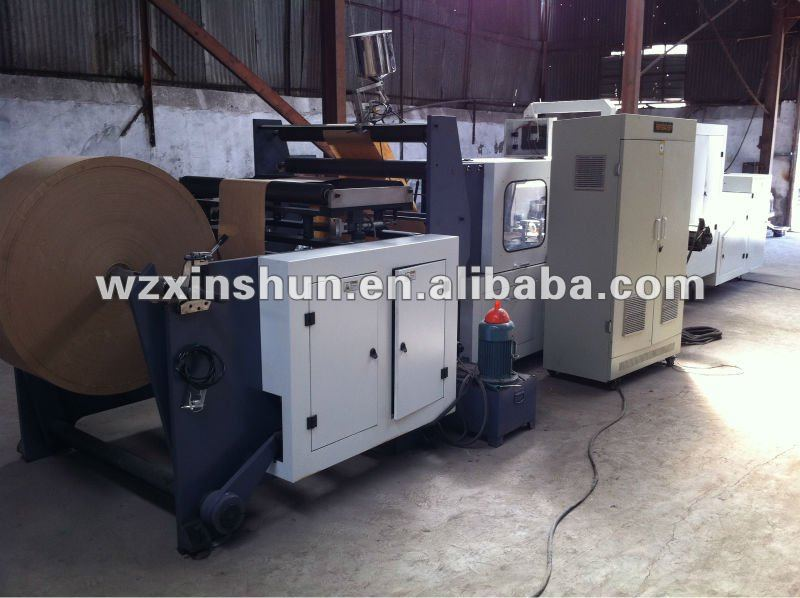 Hot--Square Bottom Paper Bag Making Machinery