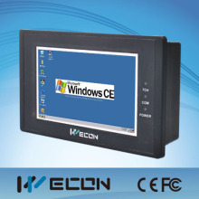 Wecon 4.3 inch wince interface fanless mini industrial pc