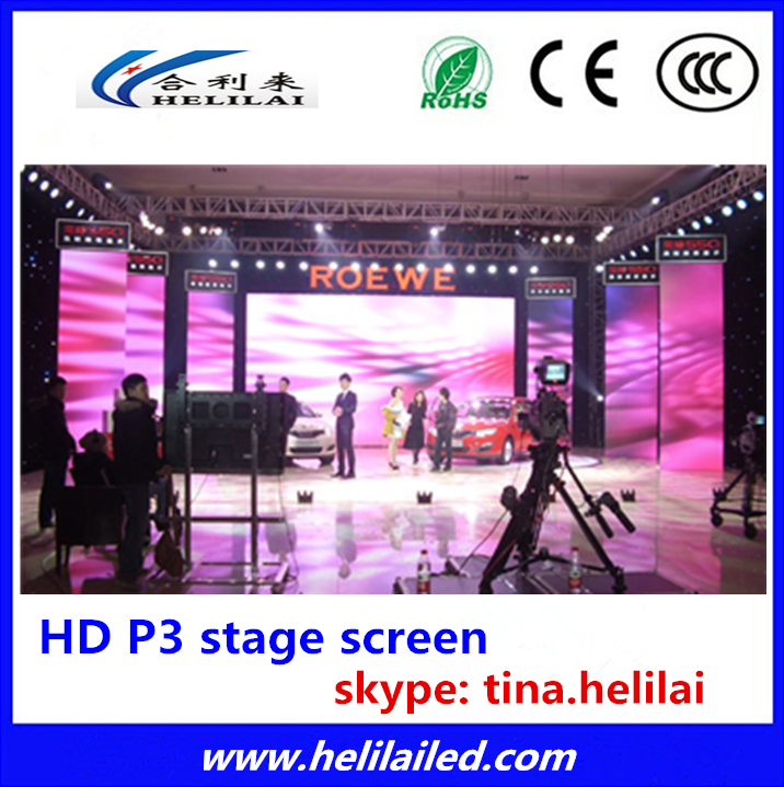 Top quality mbi driving ic high refresh rate video advertising led display screen indoor p4 p3 , MBI5124 MBI5042 led panel wall