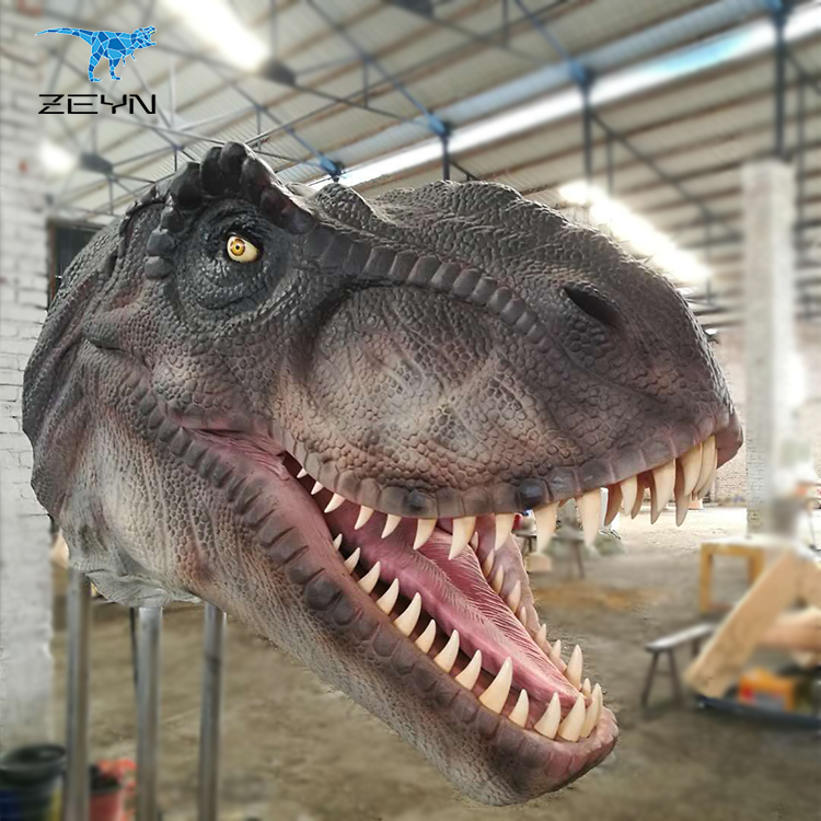 New Style dinosaur head for theme Restaurant
