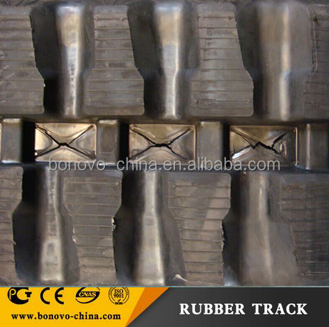 KUBOTA KX 101 rubber track 300*109*41W made from natural rubber
