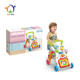 Wholesale Early Learning Trolley Parts Musical Round Baby Walker With Light