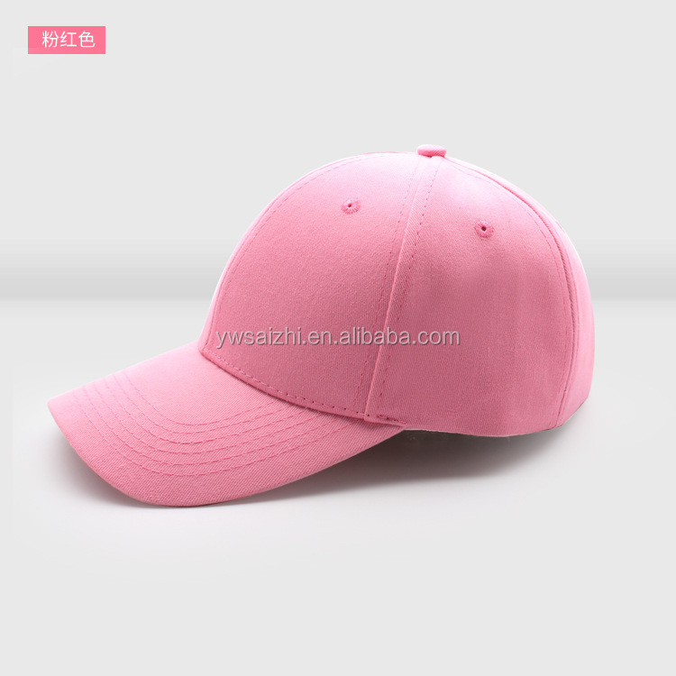 Baseball Hat Sports Cap With 3D Embroidery Logo unstructured men and women hats