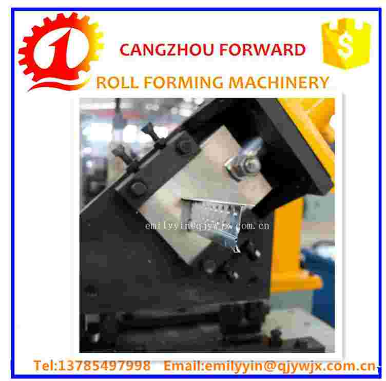 Ceiling Suspension Systems Dry Wall Partitioning Systems Making Equipment/Main T Cross T Wall Angle Roll Forming Machine