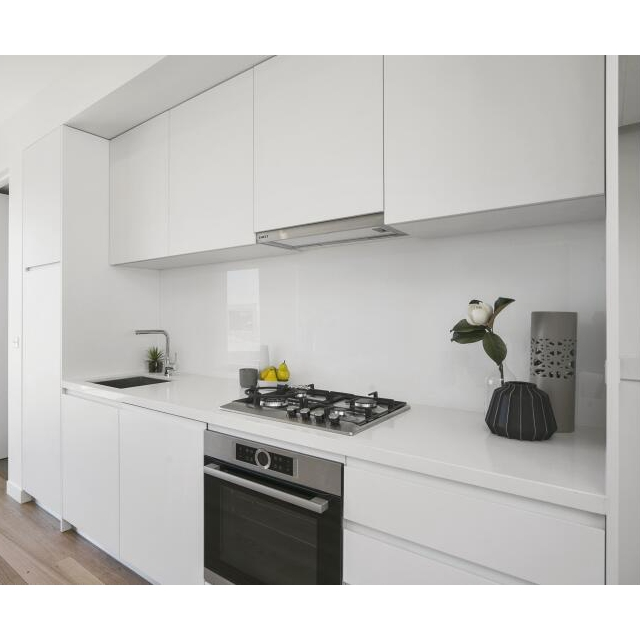 New Design White Lacquer Mdf Kitchen Cabinet