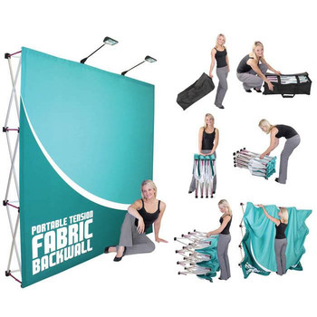 Tension Fabric Display Backdrop Stand