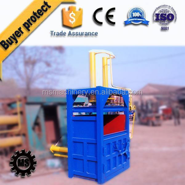Automatic mini scrap metal baler machine