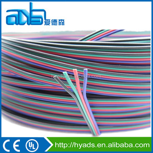 UL 2468 awm Flat Ribbon Cable PVC Insulated Flat Cable