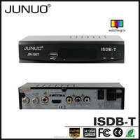 JUNUO china factory 2016 OEM new quality full hd strong tuner mstar Ecuador tv decoder set top box isdb-t