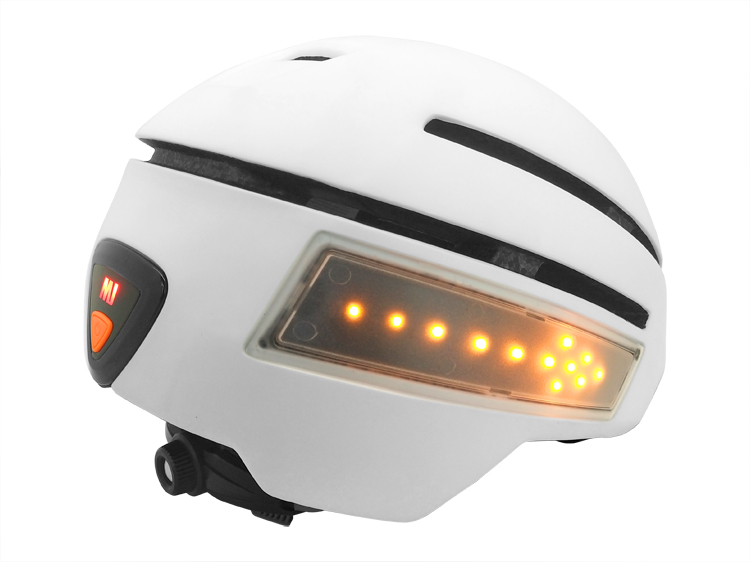 Top rated bicycle helmet with integrated lights 12