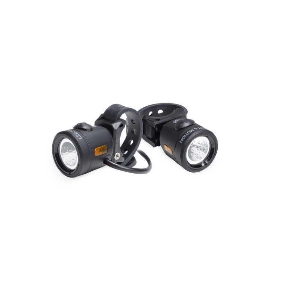Light and Motion Nip-n-Tuck eBike Headlight and Tail Light Set