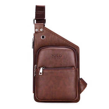 VICUNA POLO Hot Brand Casual Leather Men s Crossbody Bag Mens Sport Shoulder  Bag Leisure Men Messenger 5ac7b2af43