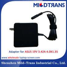 Notebook charger 19V 3.42A power adapter for Asus laptop ac 100-240v dc charger 4.0*1.35mm laptop power supply