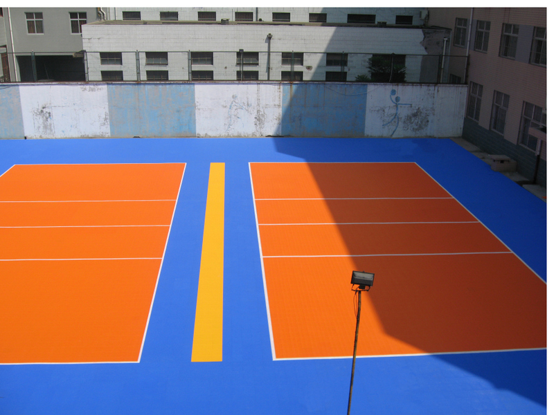 Mini tennis court dimensions